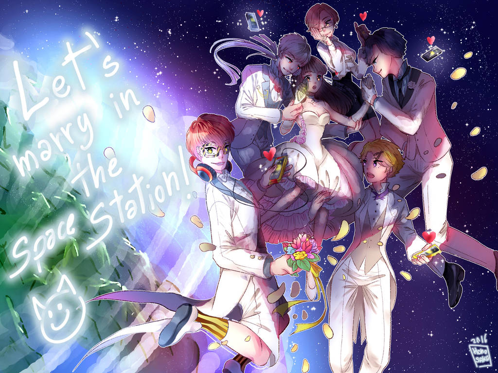 Lets Marry At The Space Station By Humesako On Deviantart