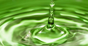 Green Waterdrop by ScottSharp1991