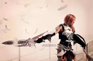 Lightning FFXIII-2 armor cosplay III by onlycyn