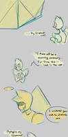 AU comic by LittleSnaketail