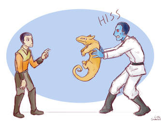 Your Jedi mind tricks will not work on me by LittleSnaketail