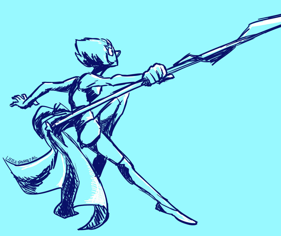 Quick practice sketch + action pose