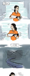Tiny GLaDOS by LittleSnaketail