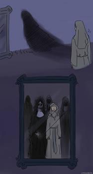 Very unholy spirit by LittleSnaketail