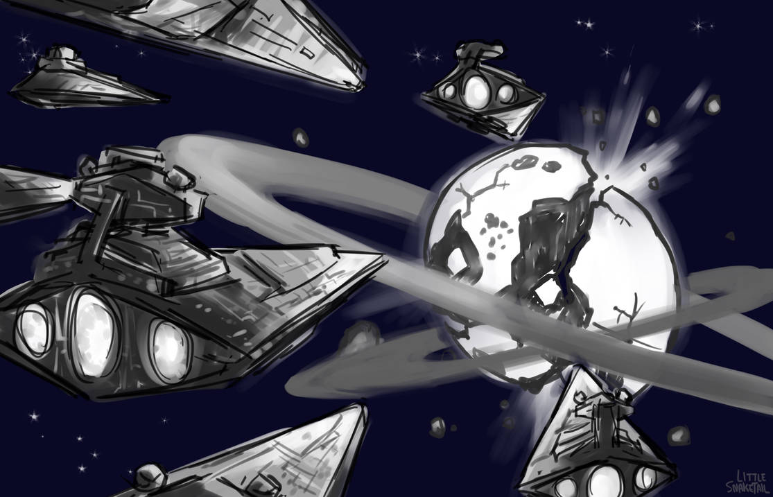 Commissioned by Fanfiction.net user Edgar H. Sutter/DeviantArt user  From Star Wars/Steven Universe crossover fanfiction Gem Wars Summary: A fleet of Stardestroyers approach the Gem ...