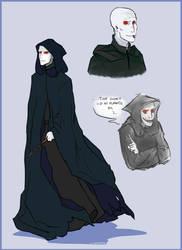 Voldemort redesign by LittleSnaketail