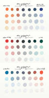 Complementary Colour Chart 1 (VIII.IV.I) by theThirdCartel