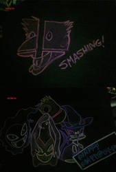 October 2014 Chalk Tables by NezuKunoichi