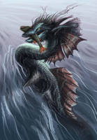 River Dragon by bibadlo