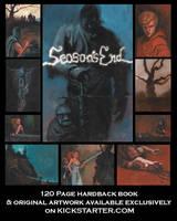 Season's End Postcard by Bewheel