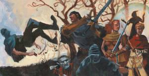 Season's End: Highwaymen attack by Bewheel