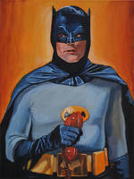 Batman w/phone by Bewheel