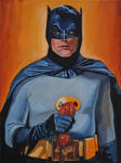 Batman w/phone by Bewheel