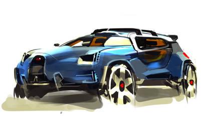 Bugatti SUV by knoxciso