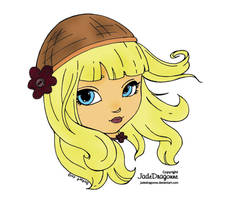 Judith (Colored Lineart) by SkekMara