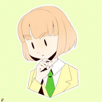 Thinking Emoji Ucchi by Instanz573