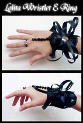 Lolita Wristlet + Ring by choyuki