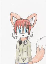 Meh self-char by Kari-the-fox