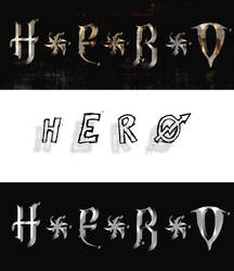 Hero test logos by raeiven