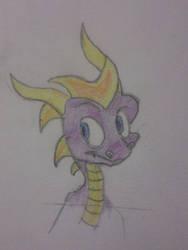 Happy Spyro by 101foxtrot