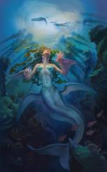 The  mermaid by Renelana