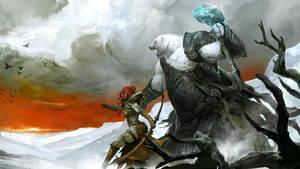Guild Wars 2 Norn by Artfall