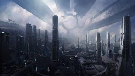 Mass Effect 2 Citadel by Artfall