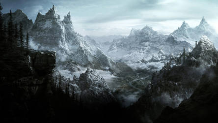 The Elder Scrolls V Skyrim by Artfall