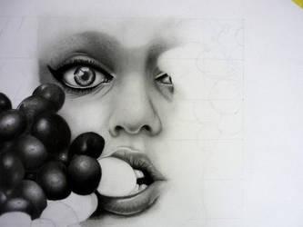 Grapes - WIP 4 by KristofDeSaeger