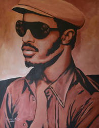 Stevie Wonder 2002 by CameronBentley