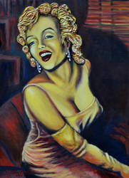 Marilyn Gold 2012 by CameronBentley