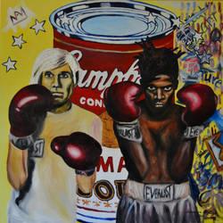 Warhol vs. Basquiat 2012 by CameronBentley