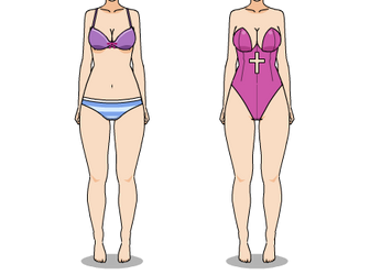 Ndrv3 Sona/Oc Swimsuit by LadyAirin2015