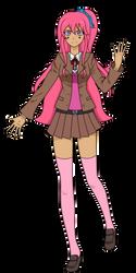 Mari in DR3 Despair Ace by LadyAirin2015