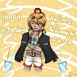 [SDRA2] HBD Hajime Makunouchi!! 26.12 by LadyAirin2015