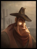 Cowboy by JoseAlvesSilva
