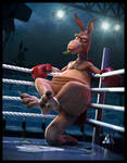 The Boxing Kangaroo by JoseAlvesSilva
