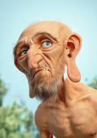 Hairy Old Guy by JoseAlvesSilva