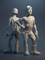 Tom Baker by JoseAlvesSilva