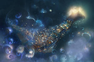 lullaby dragonet.3. by smokepaint