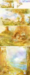 wallpaper in the nursery:) by smokepaint