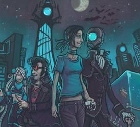 A Vampire's Birthday by CyborgNecromancer