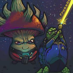 Starshroom Turtletrek by CyborgNecromancer