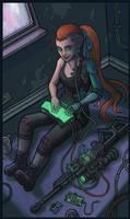 Decker Omerta by CyborgNecromancer