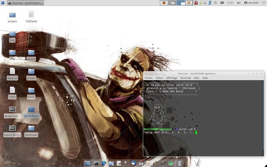 Desktop May 2011 by frugalware