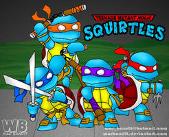 Teenage Mutant Ninja Squirtles by WarBandit