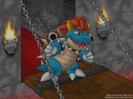 Bowser Blastoise by WarBandit