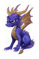 230714 Spyro 02 by saiyanhajime