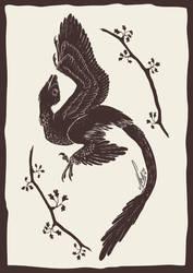 300115 Microraptor by saiyanhajime