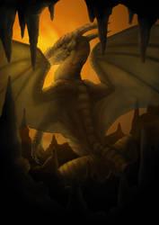 091216 Dragon by saiyanhajime